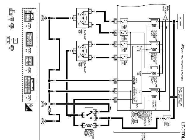 Электрическая схема ниссан ноут фото 714